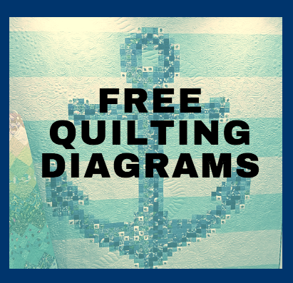 Machine Quilting the Rope Design: Free Diagrams and Tip Sheet