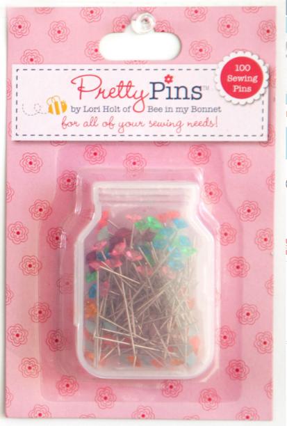 Pretty, Pretty Sewing Pins by Lori Holt