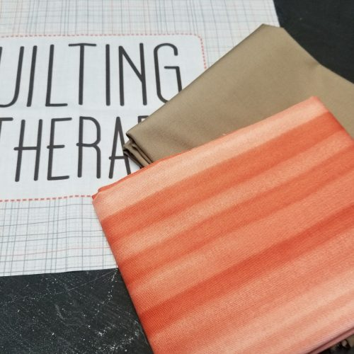 The Builder's Apron Kit for Build a Quilt- Coral Flare Colorway