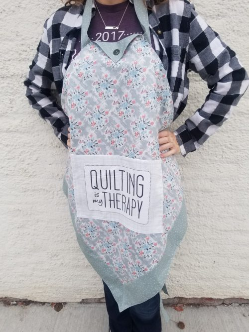 The Builder's Apron Kit for Build a Quilt- Evening Blush Colorway
