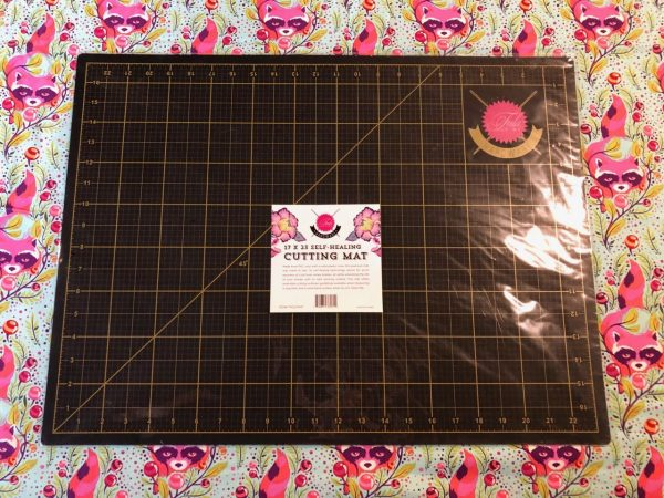 Tula Pink Cutting Mat 17in x 23 in