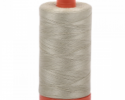 Mako Cotton Thread Solid 50wt 1422yds Light Military Green