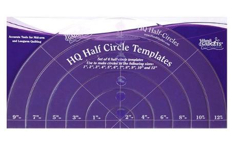 handi quilter half circle rings
