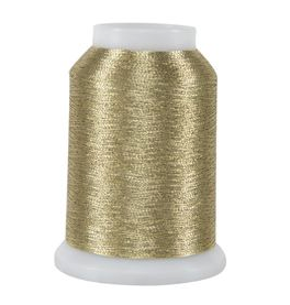 light gold metallic quilting thread