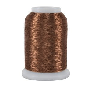 superior threads metallic copper cone