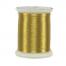 metallic gold thread spool