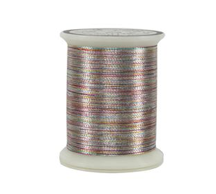 Varigated Silver Spool metallic thread