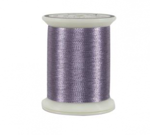 metallics thread mauve purple