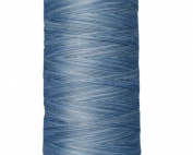 so fine variegated blues thread