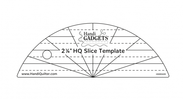 handi quilter slice machine quilting ruler