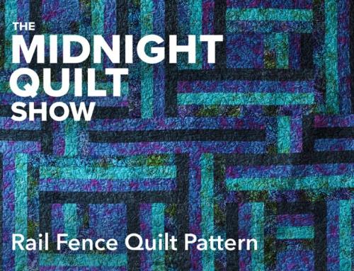 Modern Rail Fence Quilt Pattern