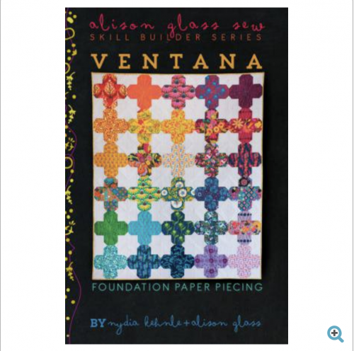 ventana quilt pattern alison glass