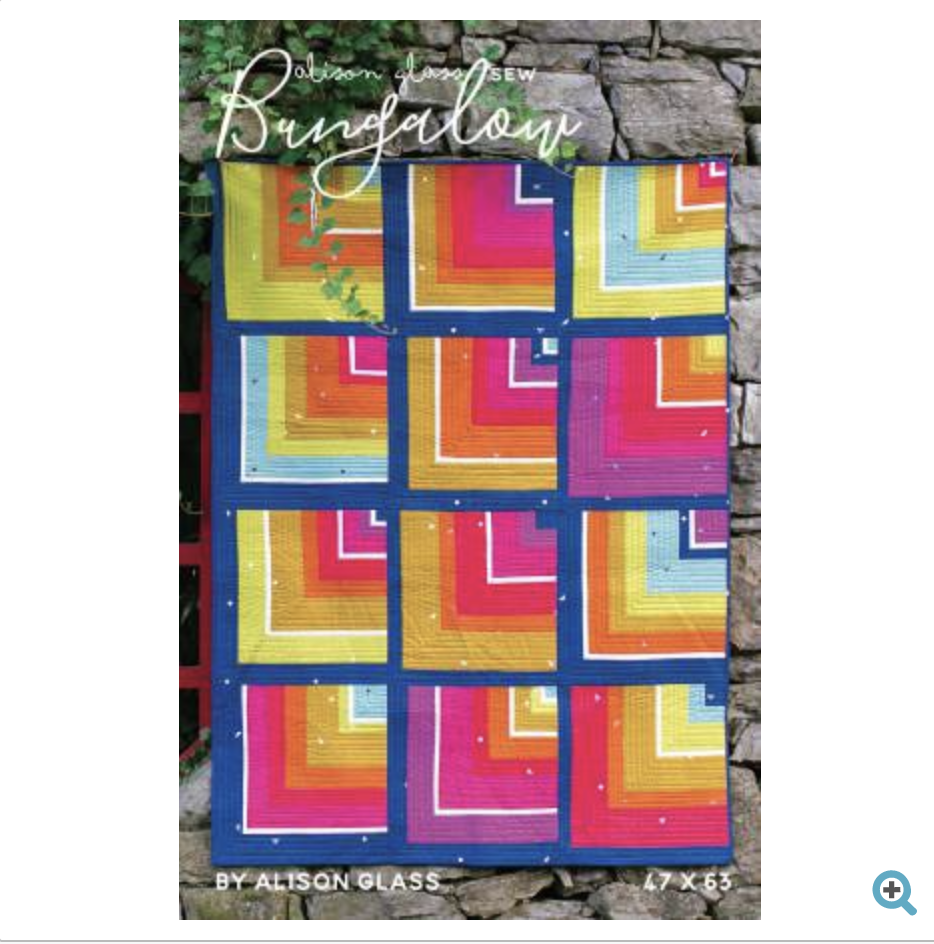 bungalow quilt pattern by alison glass