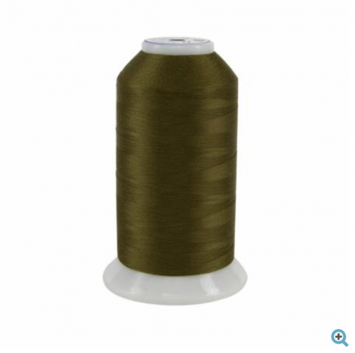 superior so fine dark green thread