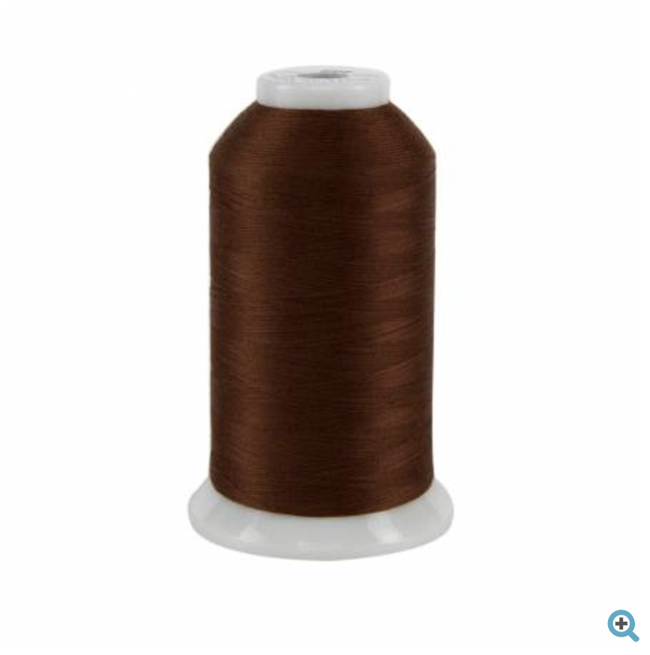 so fine brown thread