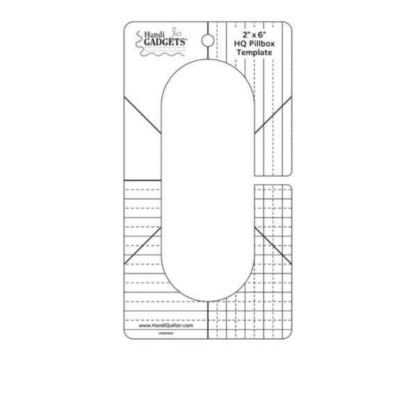 hanid quilter pillbox machine quiltng ruler