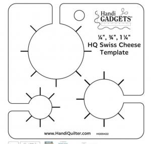 handi gadget swiss cheese ruler
