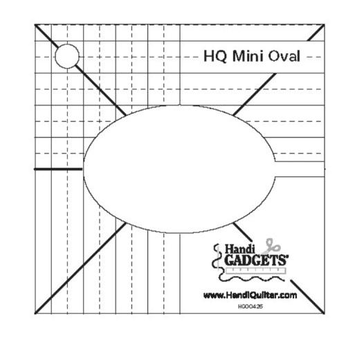 handi quilter mini oval
