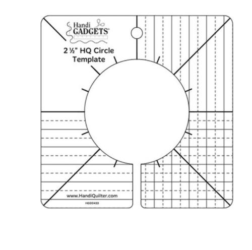 Handi Qutiler2.5 circle ruler
