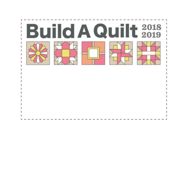 build a quilt coral flare label