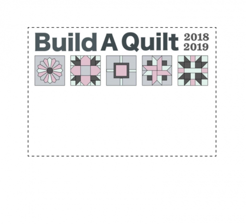 build a quilt label evening blush
