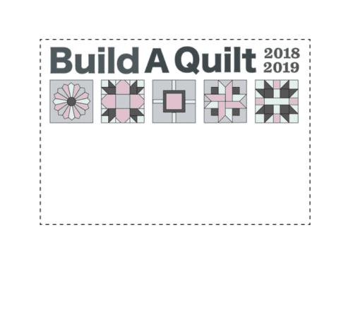build a quilt label evening blush