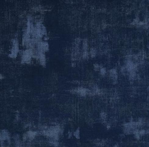 navy grunge fabric