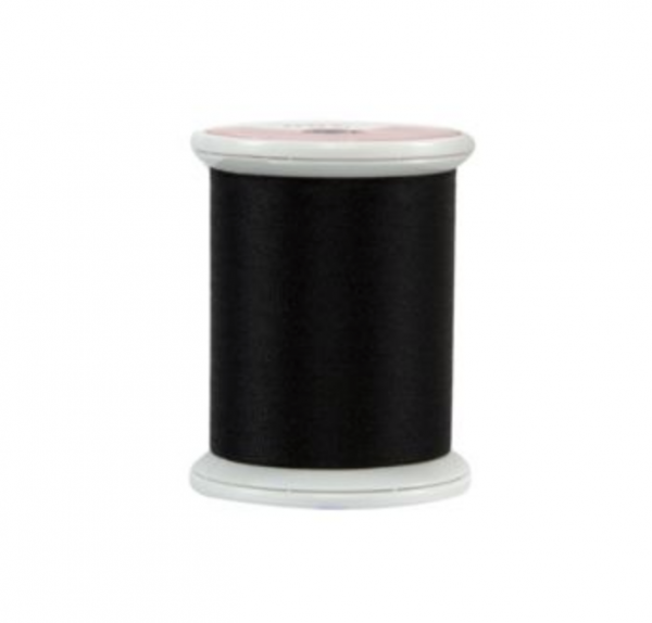 black belt silk thread kimono spool