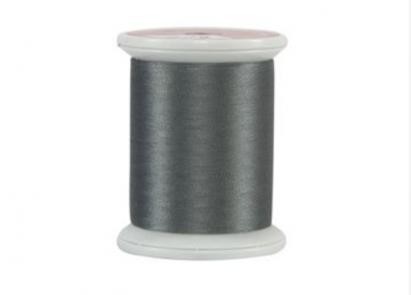 Kimono SILK thread. #100 Silk. CASTLE GRAY. 220 yd. spool.
