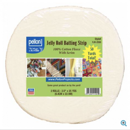 jelly roll batting strips pellon