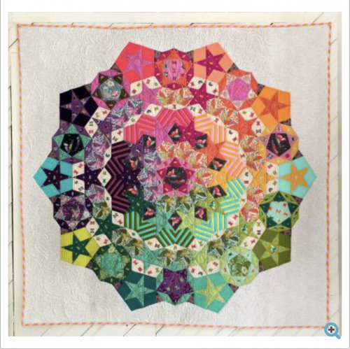 tula pink nova paper piecing english