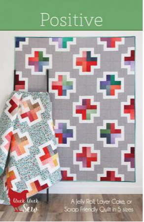 positive quilt pattern by cluck cluck sew
