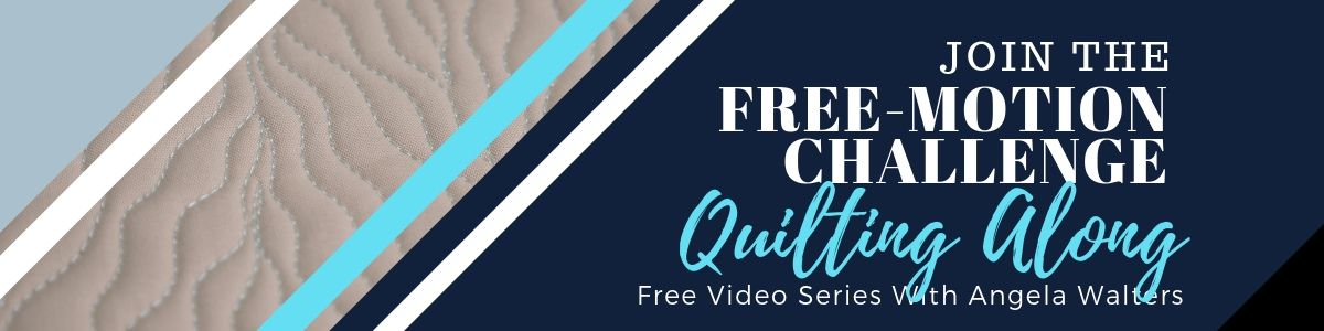 free-motion challenge with angela walters