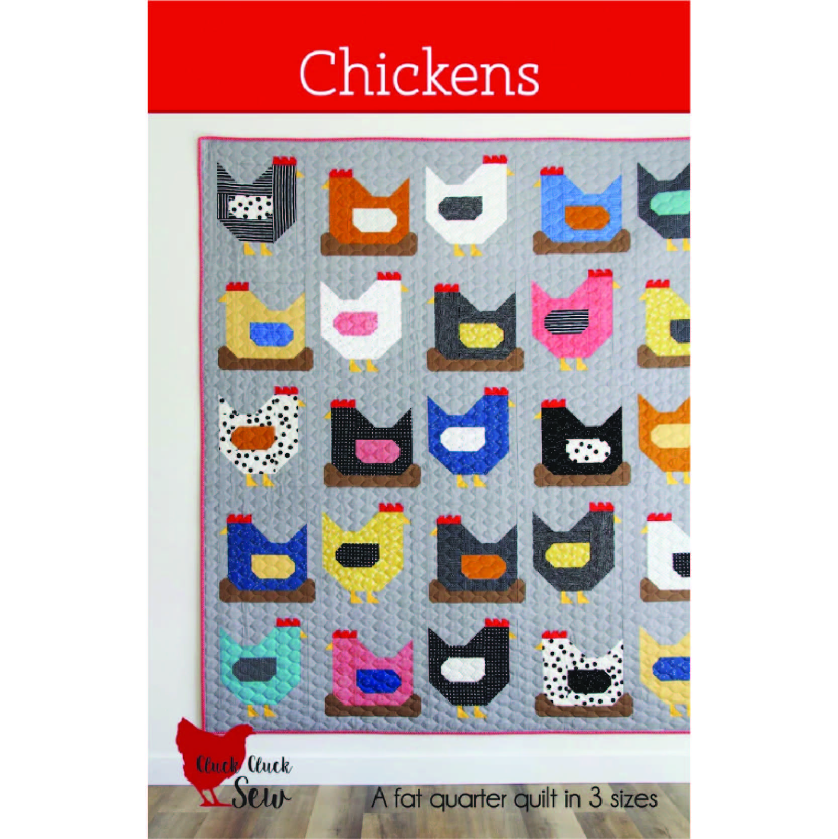 chickens quilt pattern