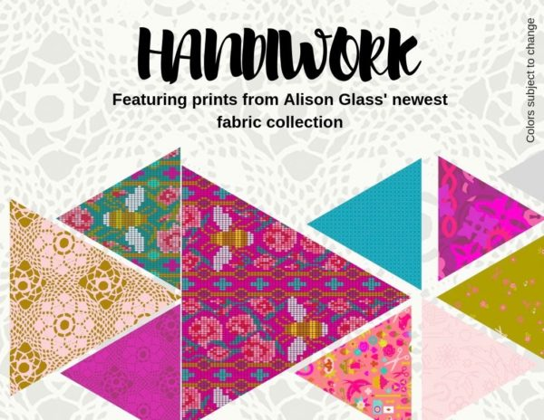 Handiwork alison glass quilt fabric block of the month