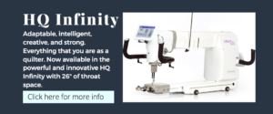 handi quilter infinity quilting machine