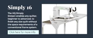 Handi Quilter Simply 16 Longarm Quilting Machine