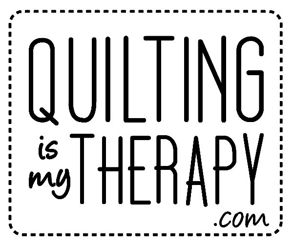 quilting is my therapy logo