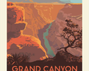 grand canyon National Park Fabric Quilt panel