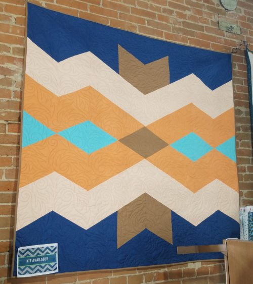 Aztec Diamonds Quilt Kit