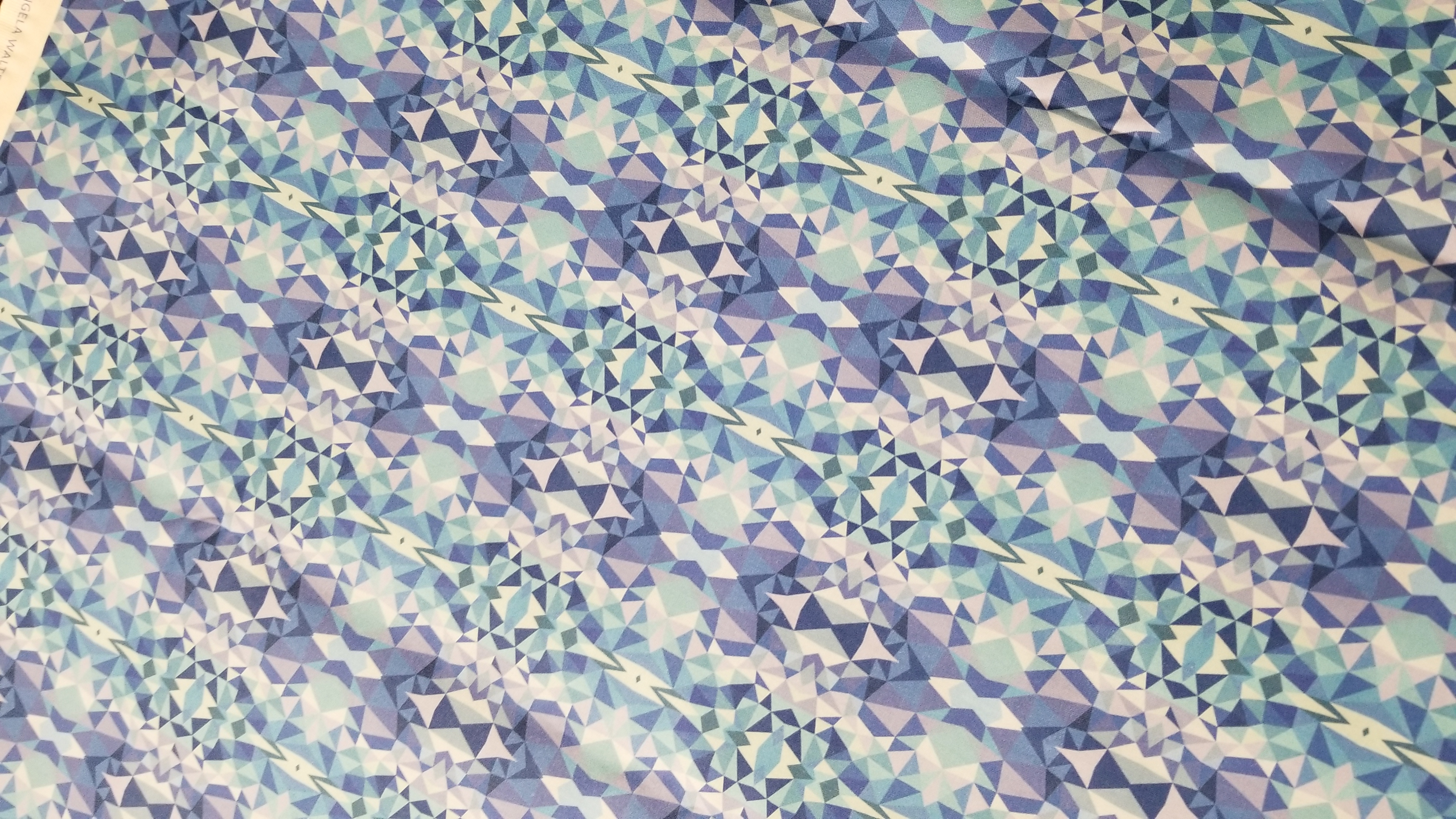 digitally printed fabric for quilt