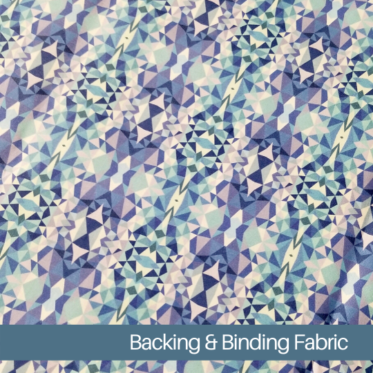 angela walters exclusive fabric for free-motion challenge quilting along