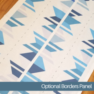 border panel for easy quilts