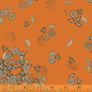orange pencil club fabric
