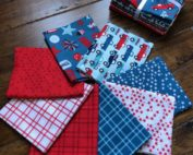 fireworks and freedom fat quarter bundle
