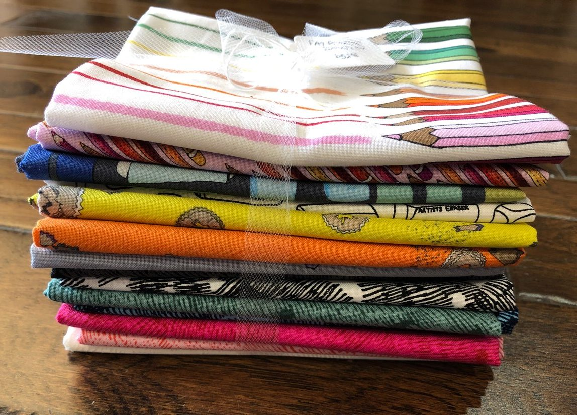 pencil club fat quarter bundle