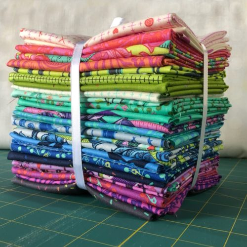 tula pink homemade fat quarter bundle
