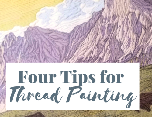 4 Tips for Thread Painting + Video Demo