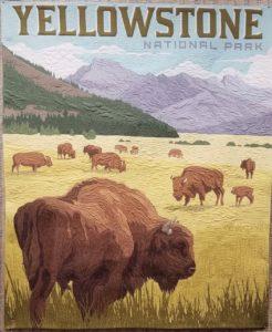 yellowstone national park panel