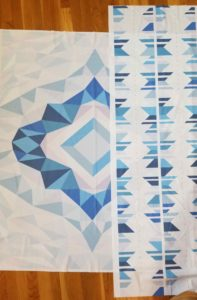 quilt border with panel